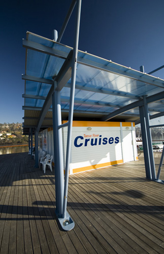 Tamar River Cruises Cruise Terminal at Home Point by the Old Launceston Seaport