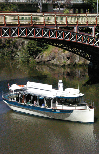 Tamar River Cruises in Launceston's Cataract Gorge and Tamar Valley